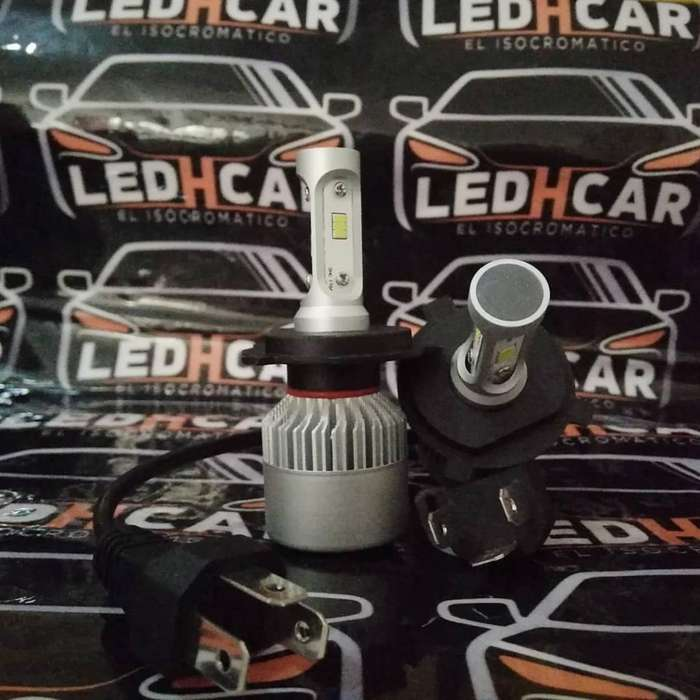 Luces Led para Autos & Moto 8000lm