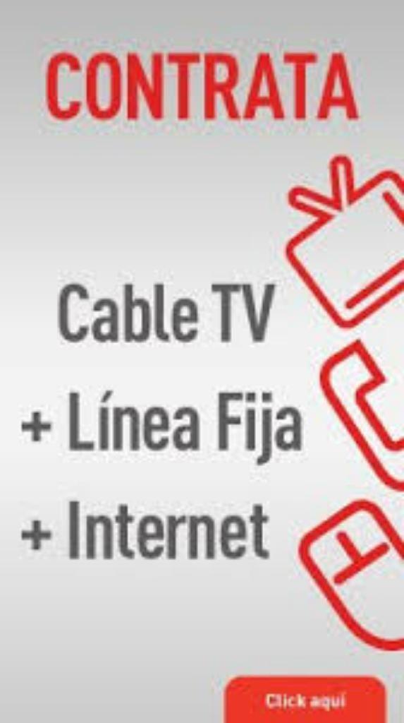 Toma Servicios Triple Play Y Negocios Tv