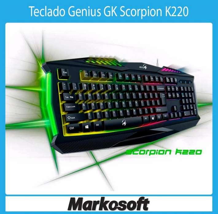 Teclado Genius GK Scorpion K220