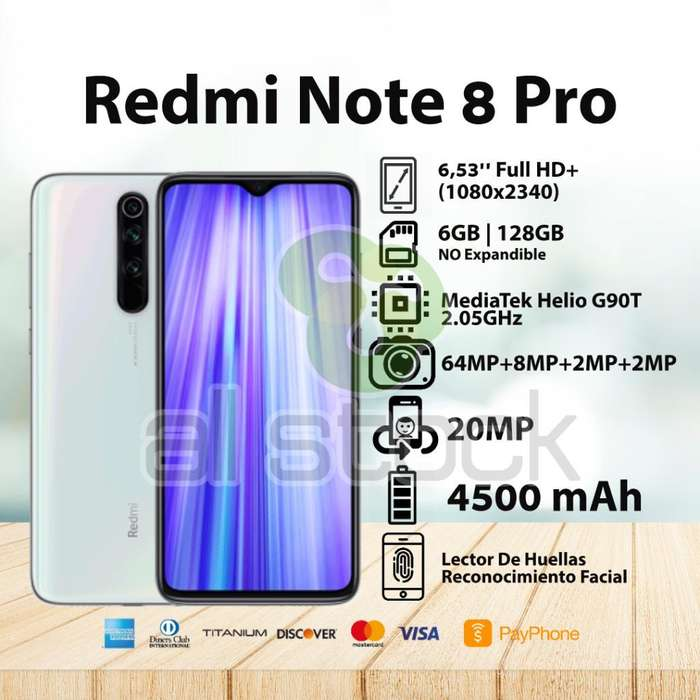 Note 8 Pro 6 128gb