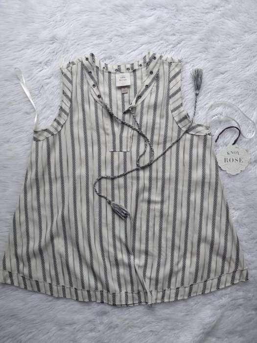 Blusa Musculosa Knox Rose S Y Xl