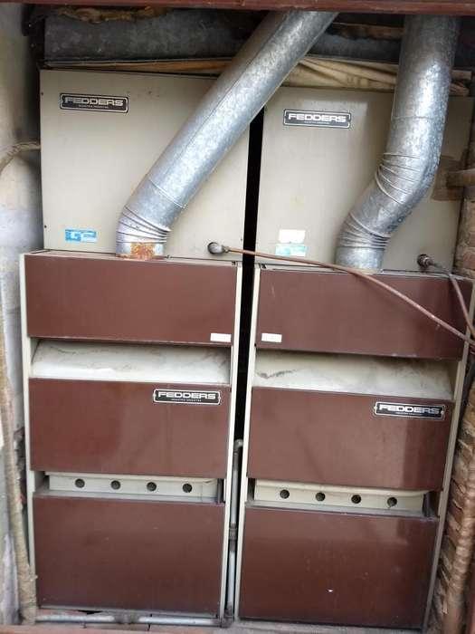 equipo fedders frio/calor 5ton, usado, optimas condiciones, liquido