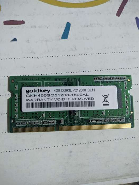 Ram 4gb Ddr3 1600mhz Notebook