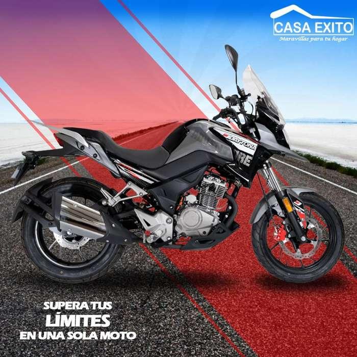 Moto Daytona Dy 200 Adventure 200cc Año 2019 Ro/ Ne Casa Éxito
