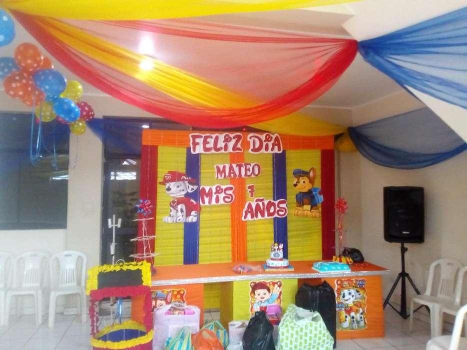 - Fiestas Infantiles