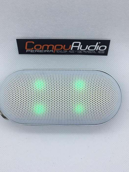 Speaker parlante Bluetooth mini iluminado