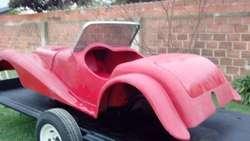 Auto Lotus Morgan de fibra de vidrio para armar nuevo  59.000.-