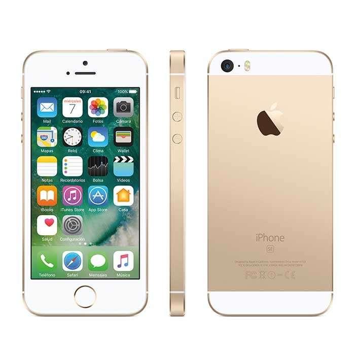 Celular Iphone Se 32gb Dorado