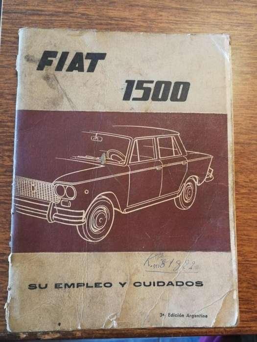 Manual original Fiat 1500