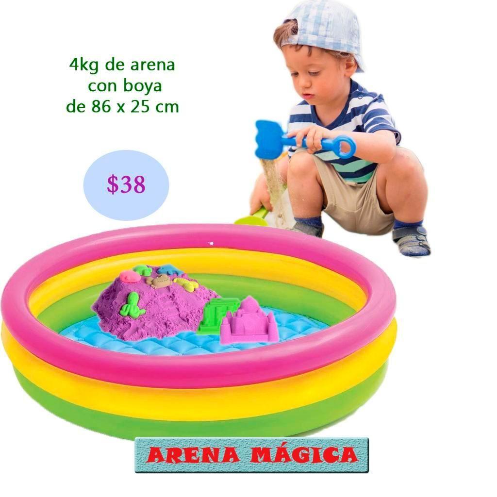 Boya Arenero con 4kg Arena Magica Cinéti