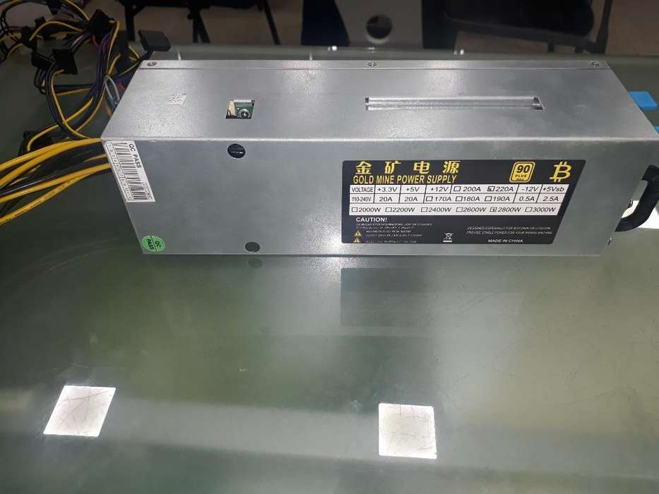 Gold Mine Power Supply (2800w) Reales