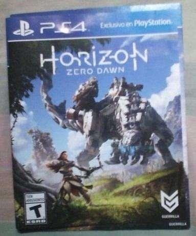 Horizon zero PS4 Venta en chipichape. no cambios