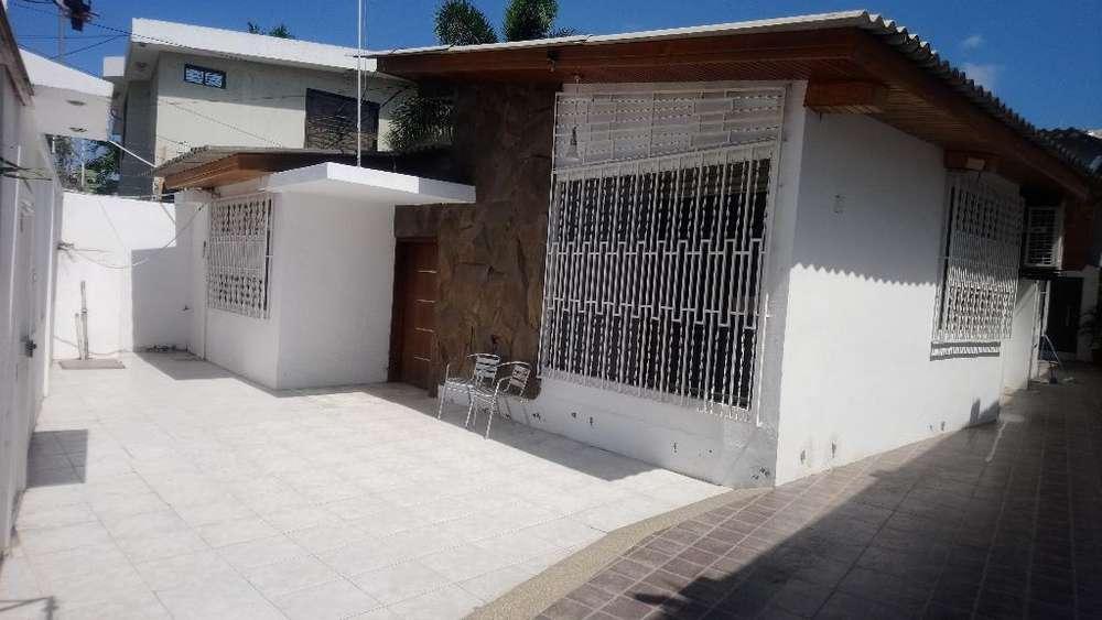 Alquilo Casa Amoblada Sector Algarrobos