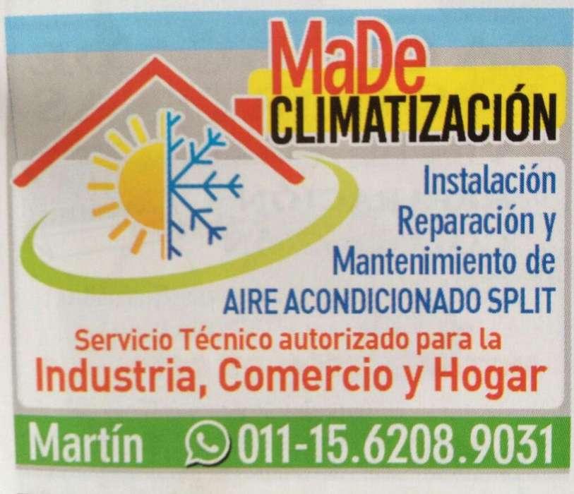 INSTALACIÓN Y REPARACIÓN DE AIRE ACONDICIONADO SPLIT. 0111562089031
