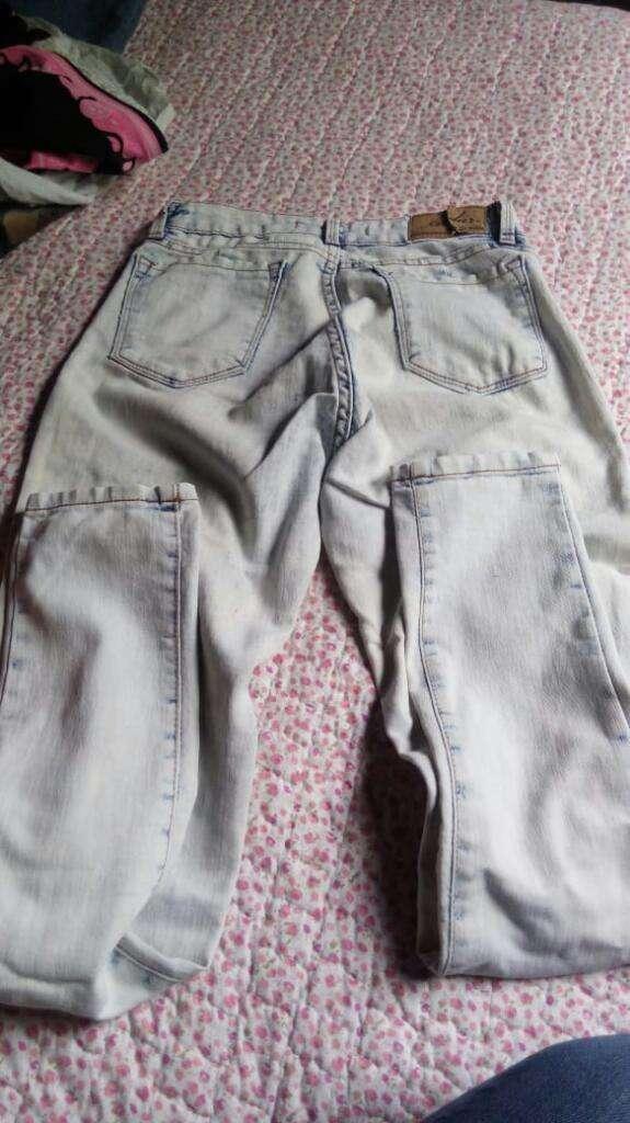 Zapatillas Jeans Y Polleras