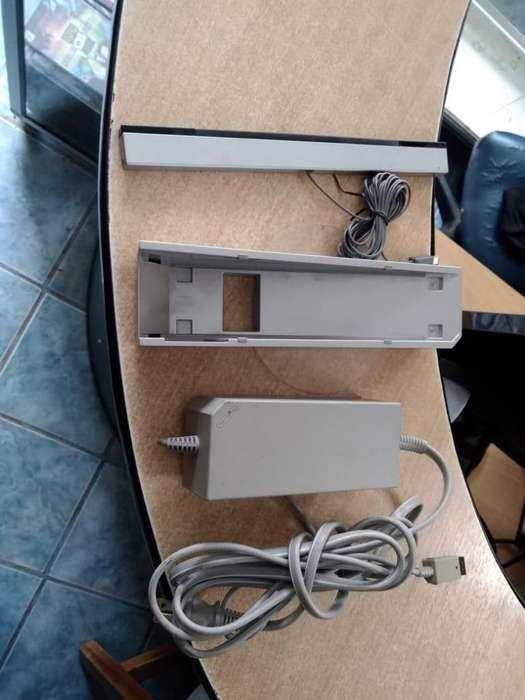 base, sensor, cable para nintendo wii