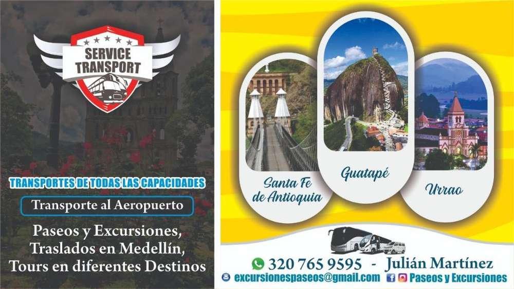 Transporte Aeropuerto Tour Paseos