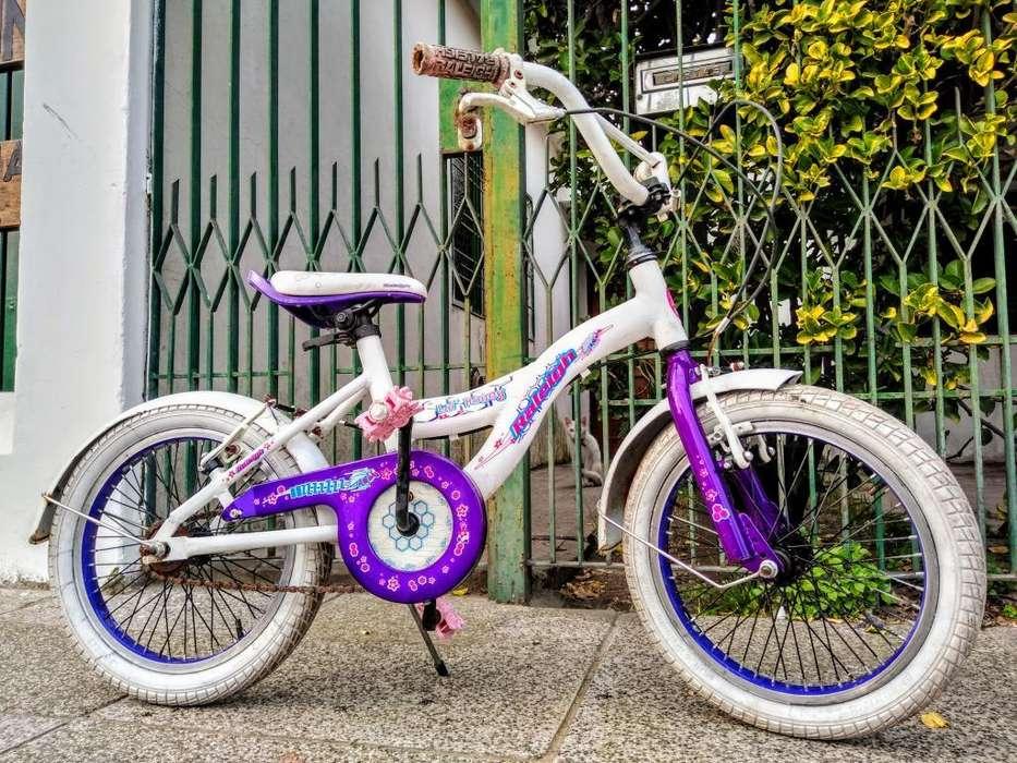 Bicicleta Bmx Raleigh Rodado 16 Aluminio