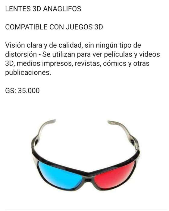 Gafas 3d Universal Cualquier Tv