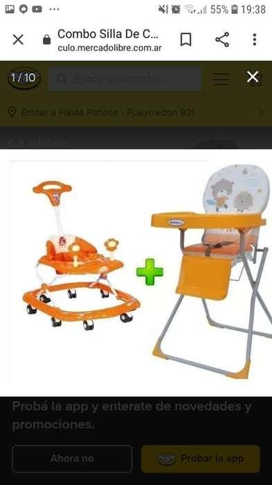Vendo Andador Musical,silla de Comer