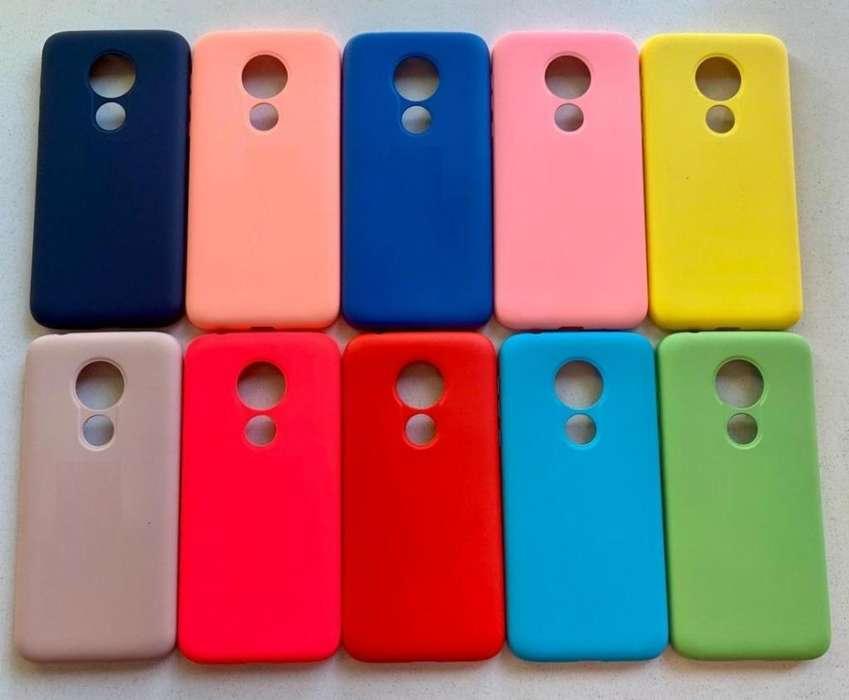 Funda Soft Case Motorola G7 POWER Siliconada Soft Antigolpe