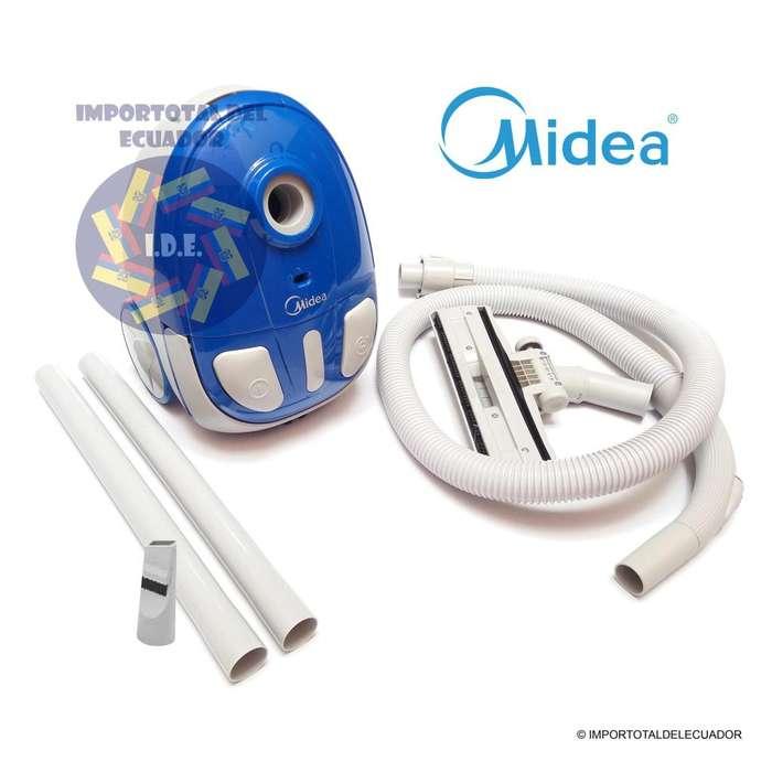 <strong>aspiradora</strong> ''nueva'' marca MIDEA con funda ''1400 watts'' potente / 1 litro y 110 voltios / mod. VCB33A14F