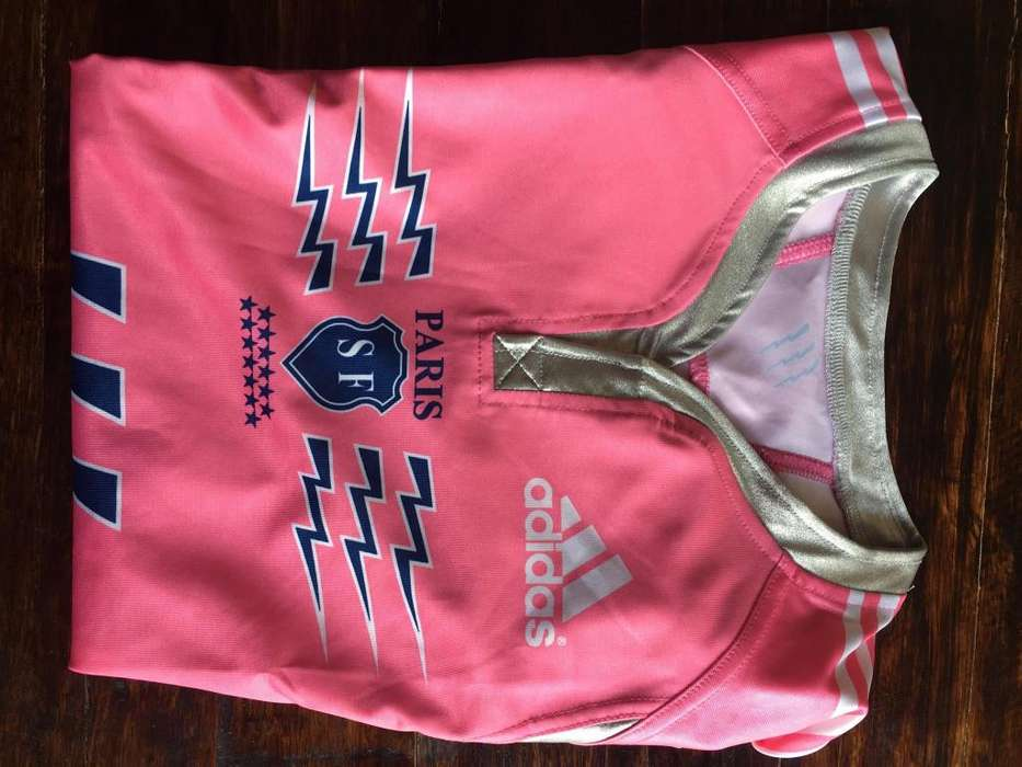 Camiseta Stade Français talle L, nueva