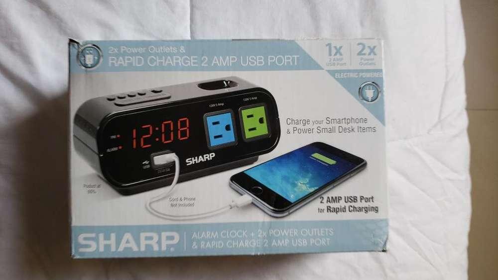 Sharp Alarm Clock