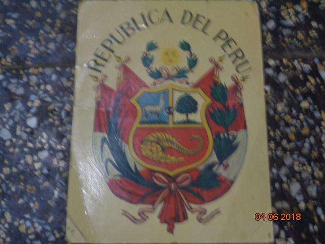 antiguo disco de carton de 45 R.P.M