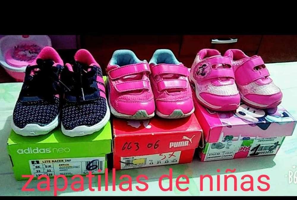 Vendo Zapatillas de Niñas