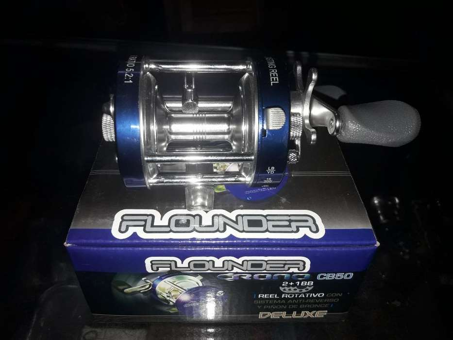 Vendo Reel Frontal Flounder