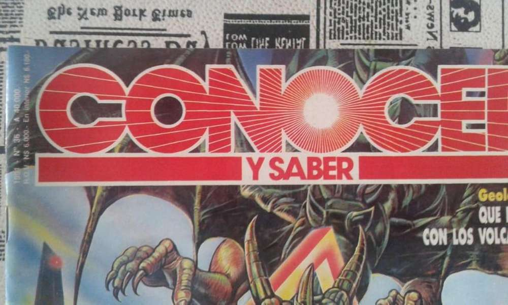 Revista Conocer Y Saber N 36 Año 1991 Triangulo Del Dragon