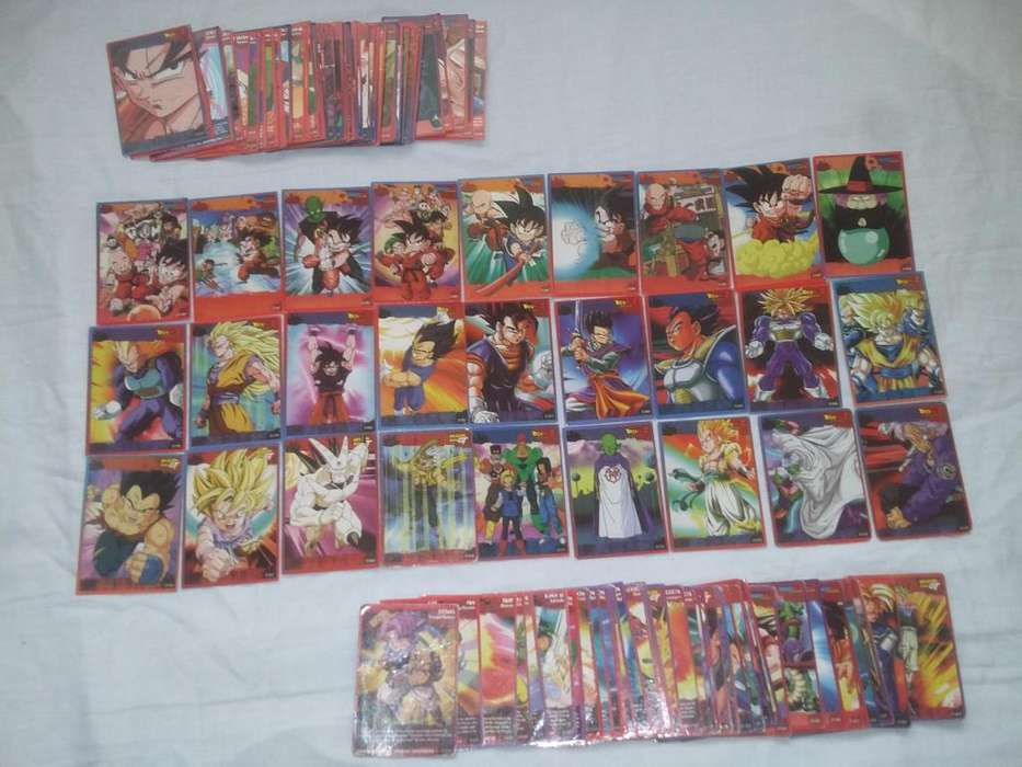colección de cartas de dragon ball z Dragon ball Dragon ball GT.