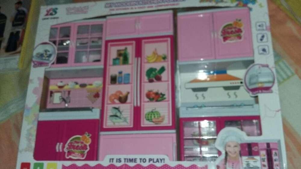 Se Vende Cocina de Barbies para Niñas