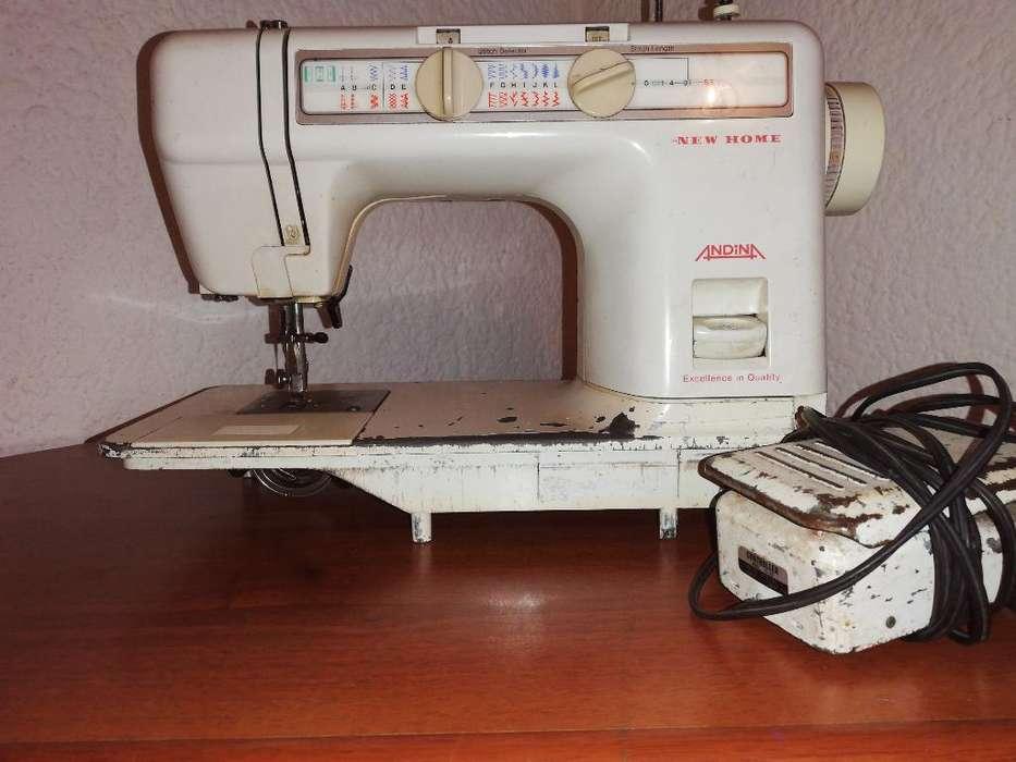 Maquina de Coser New Home Andina