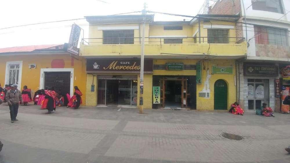 Alquilo segundo piso de casa en pleno centro de la ciudad de Puno