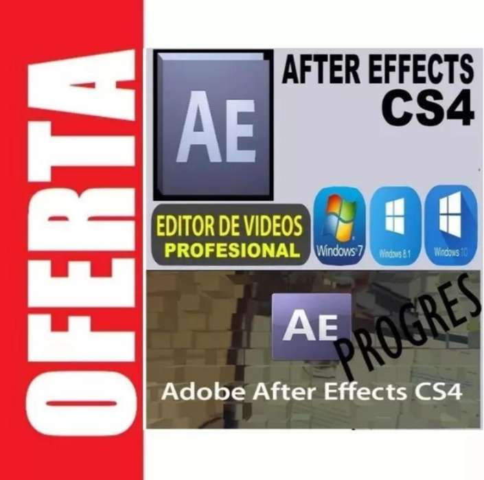 After Effects C.s4 Ilimitado