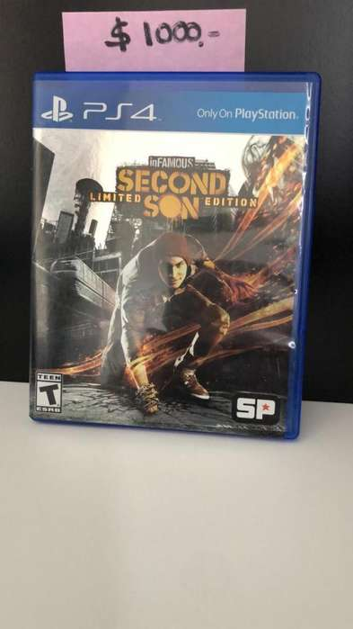 Juego SECOND SON Limited Edition