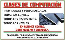 Clases Computación particulares e individuales