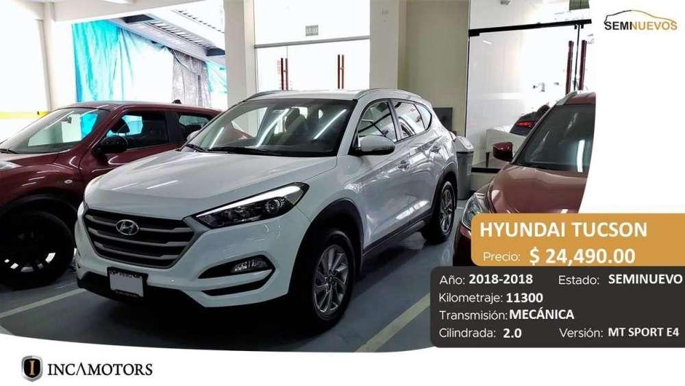 Hyundai Tucson 2018 - 11300 km
