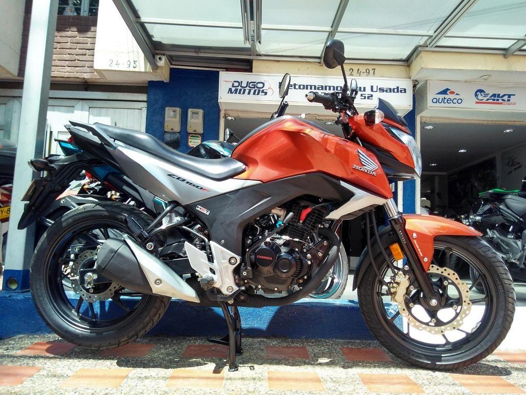 Honda CB160F dlx modelo 2019 excelente! Aprovecha la mejor retoma de tu usada!