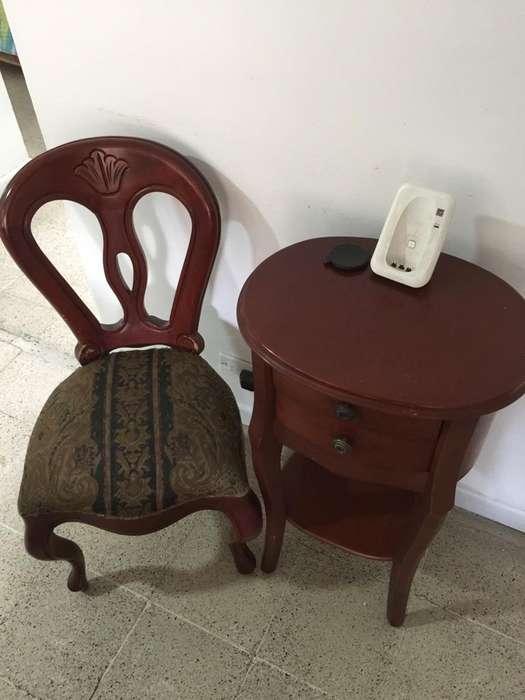 Mesa Y <strong>silla</strong> de Telefono