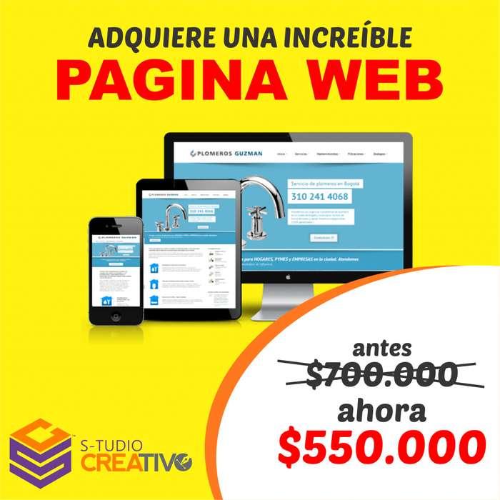 Creamos tu pagina web Diseño Web