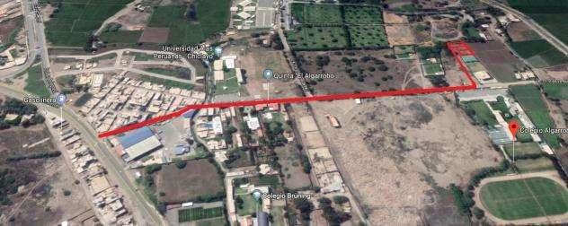 Vendo amplio lote de terreno detrás del colegio Futura Schools - Carretera Pimentel