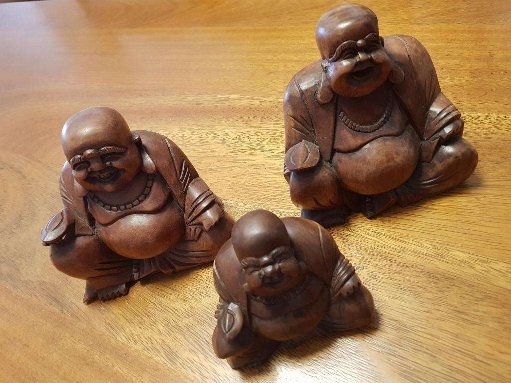 Budas de La Abundancia de Madera Teka