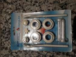 Kit Universal Instalación Radiador x 10 unidades