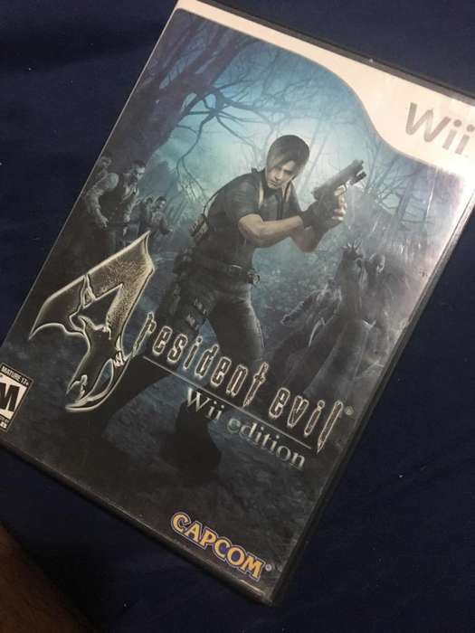 Resident Evil 4 Juego Wii