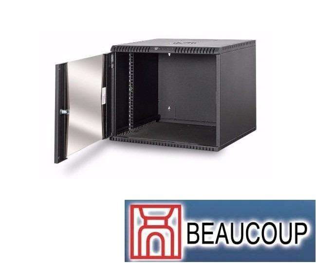 GABINETE RACK BEAUCOUP I1050 COMPACTO DE PARED 7UR 38x54x50cm