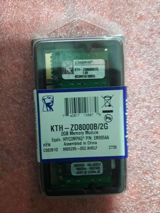 Vendo Memoria Ddr2 2gb Kingston Nuevas.