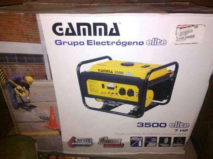 Generador Gamma Nuevo en Su Caja. Escucho oferta seria en EFECTIVO Y/O TARJ.CREDITO